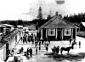 Juna-asema 1920-luvulla